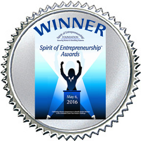 Winner - Spirit of Entrepreneurship Awards 2016
